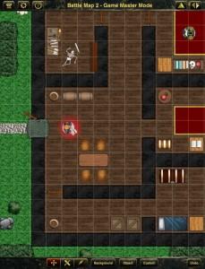 Battle Map im Spielleitermodus