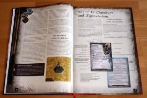 Blick auf die Regeln: Einführung in die grundlegenden Spielbegriffe und die Charaktere und Eigenschaften