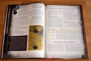 Blick auf die Regeln: Distanzangriffe und Glückliche Attacken/Paraden und Patzer