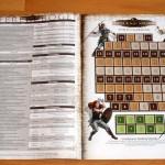 Einleger - Referenzbogen Seite 2 und Spielzugsanzeige