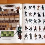 Einleger - Spielzugsanzeige und Charakteraufsteller (Vorderseite)