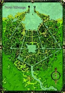 Stadtplan Porto Velvenya