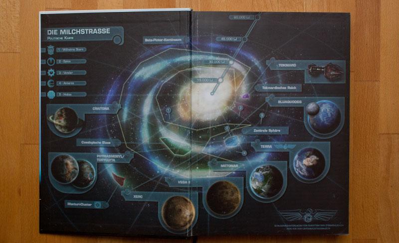 Nova - Farbkarte des Universums