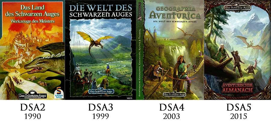 Vergleich der DSA-Cover